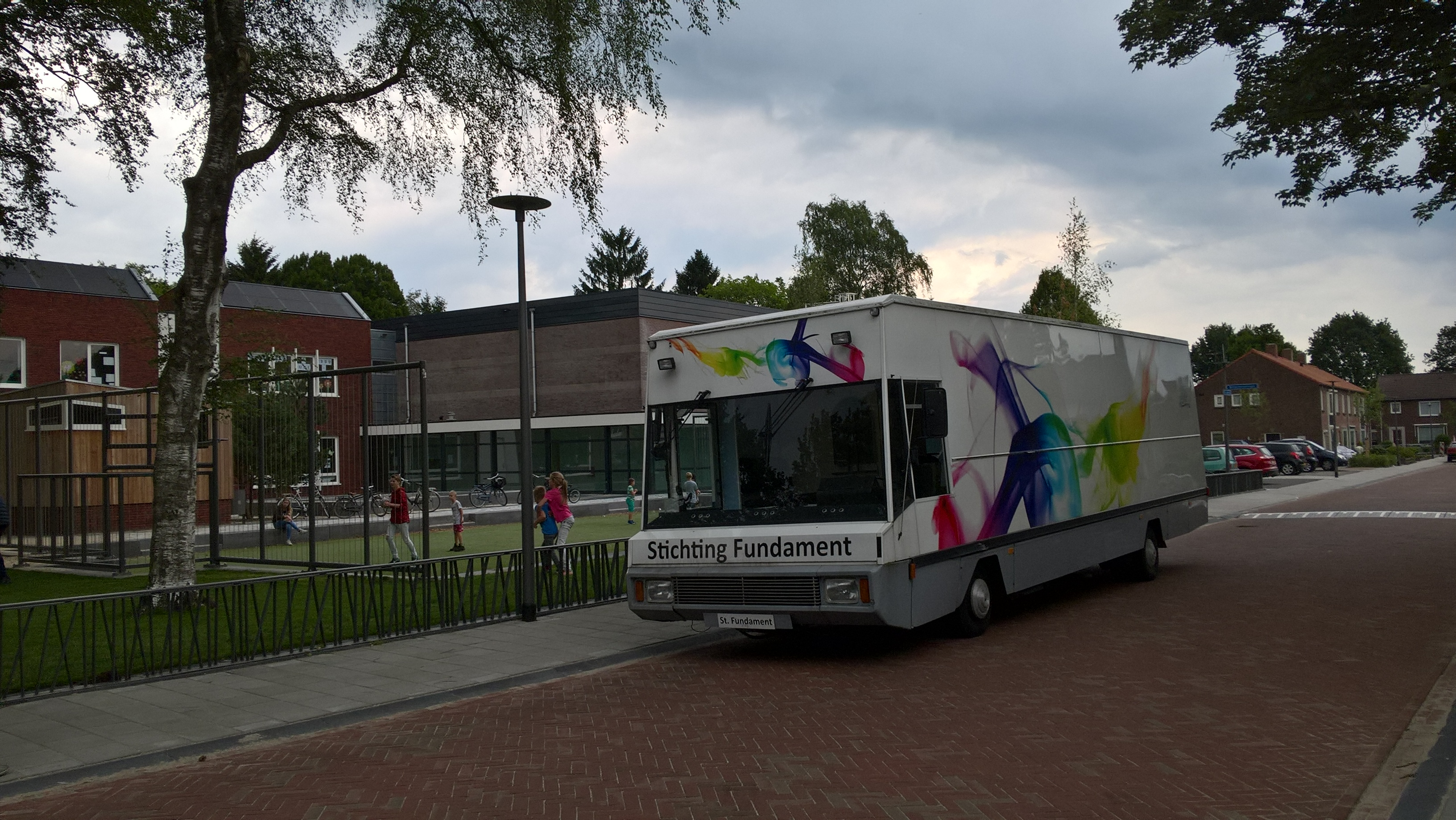 Jongerenbus in Overdinkel